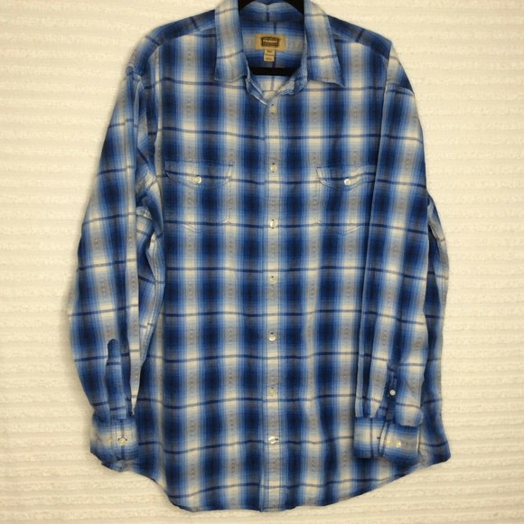 Men/'s Foundry Big /& Tall Supply Co Long Sleeve Button Down Shirt *NWT*